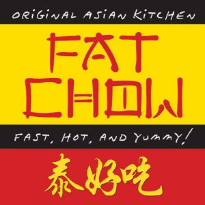Fat Chow Chiang Mai Logo: fast, hot, and yummy!